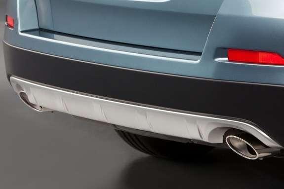Honda Crosstour Concept rear bumper
