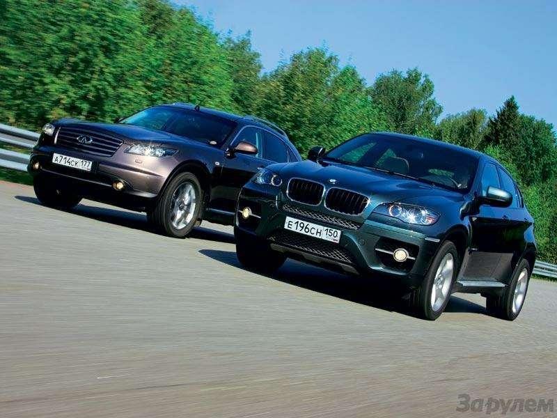 Тест Infiniti FX45, BMW X6: Позакону альбиносов, или Приятные исключения— фото 89569