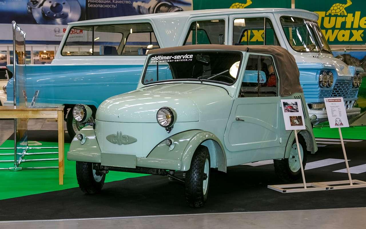Народные автомобили СССР: вот кто был доЗапорожца!— фото 1253119
