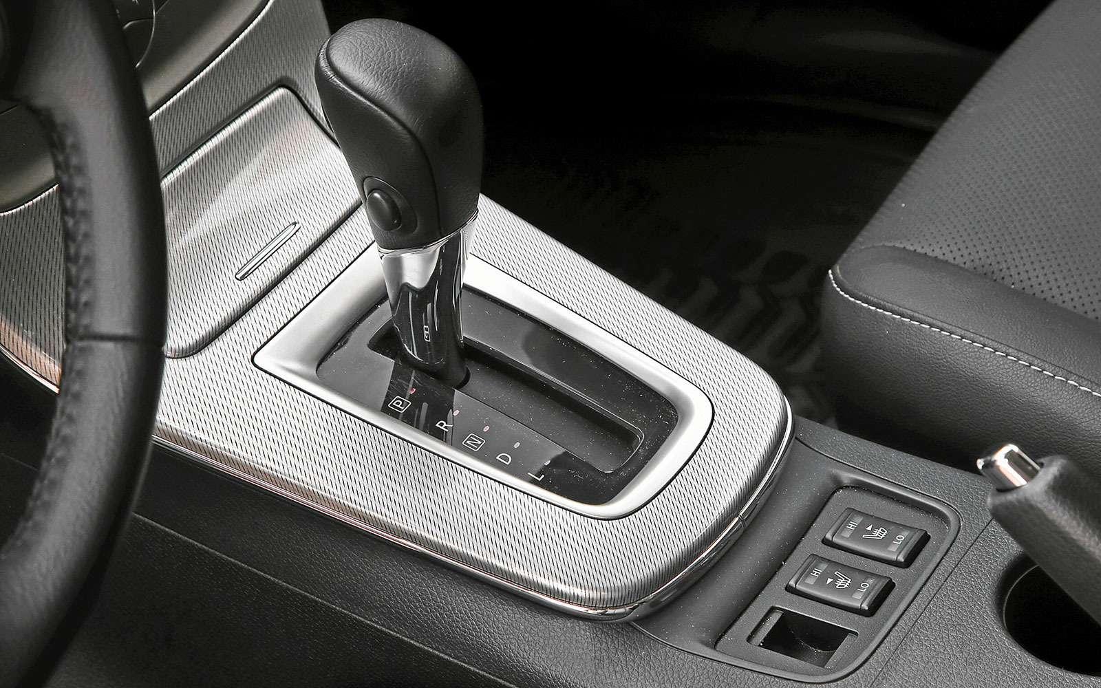 Селектор вариатора Nissan Sentra