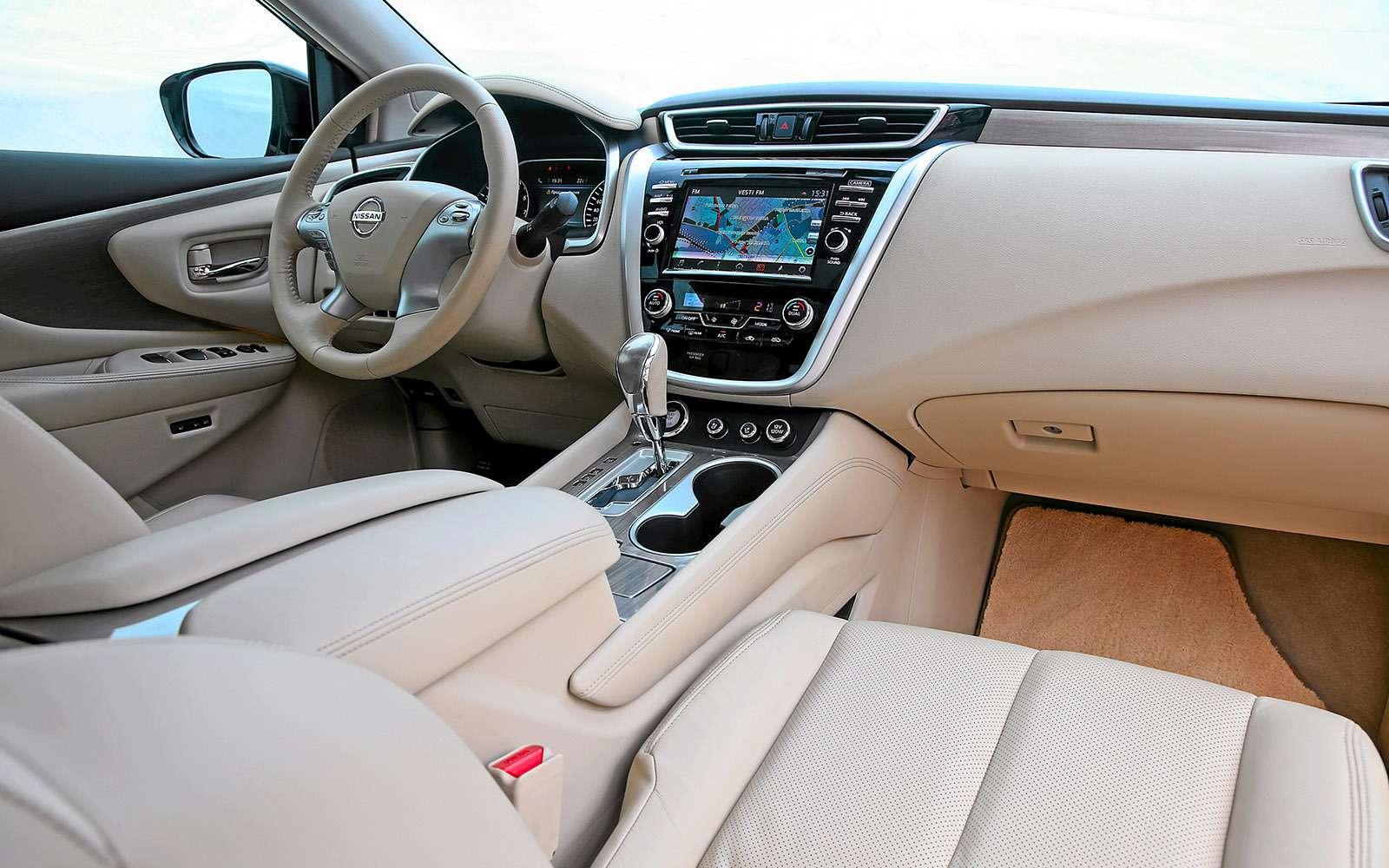 Новый Nissan Murano против конкурентов: длинные рубли— фото 691675