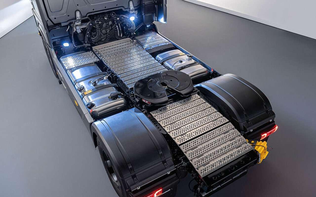 Mercedes выпустил S-класс для дальнобойщиков