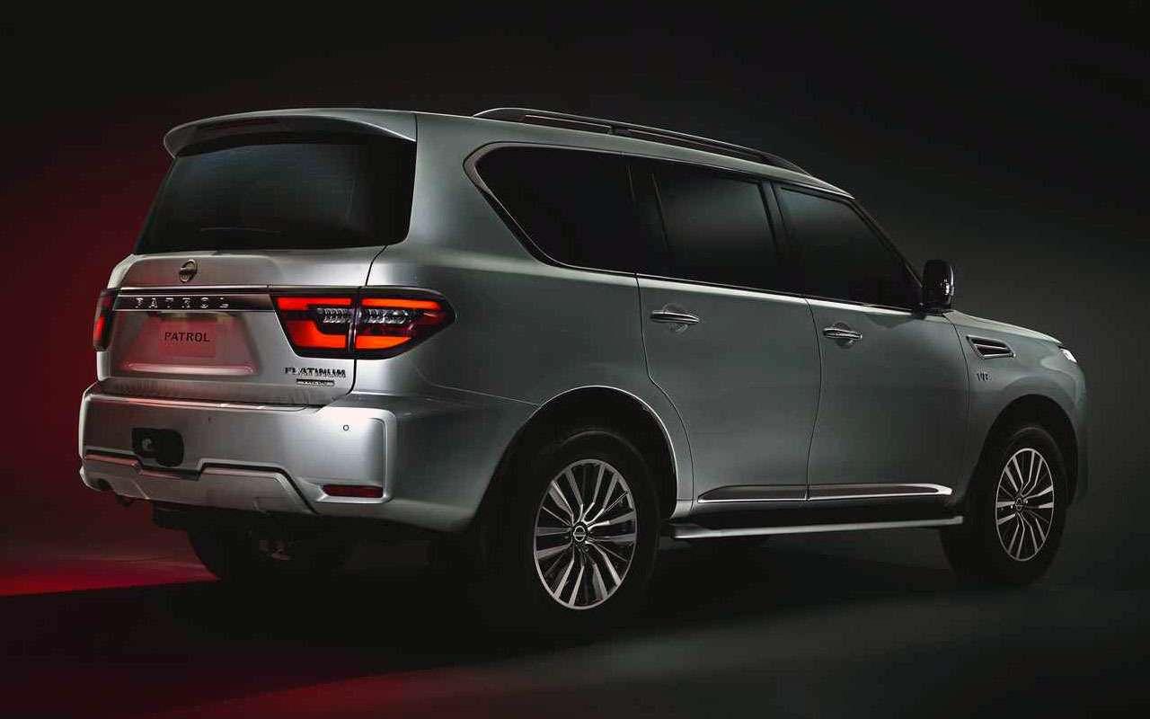 Nissan представил обновленный Patrol— вот чего мылишились— фото 998375