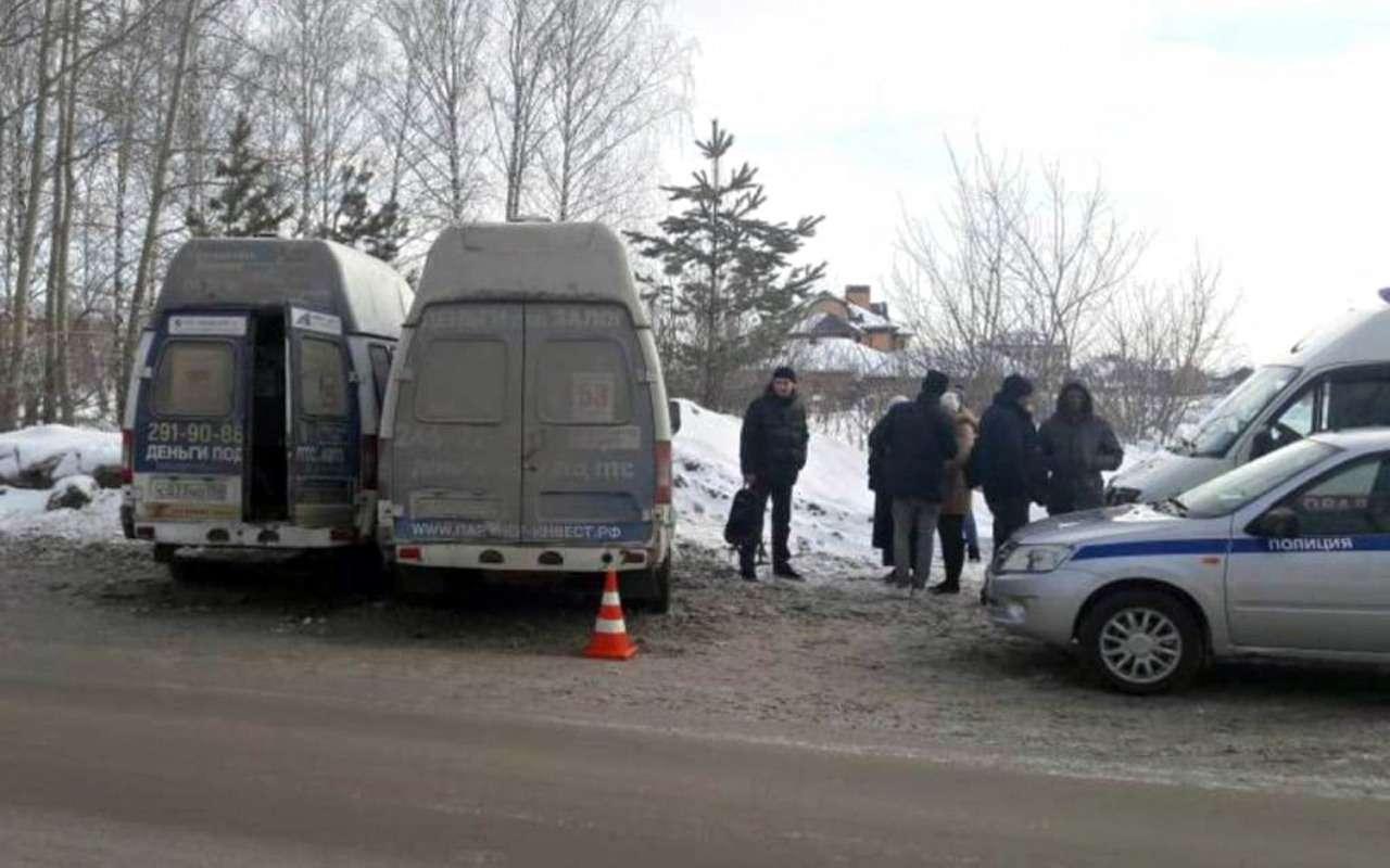 wjG2e8Cw9bRONA2gkRtD8w - Две маршрутки столкнулись вНовосибирске. Есть жертвы