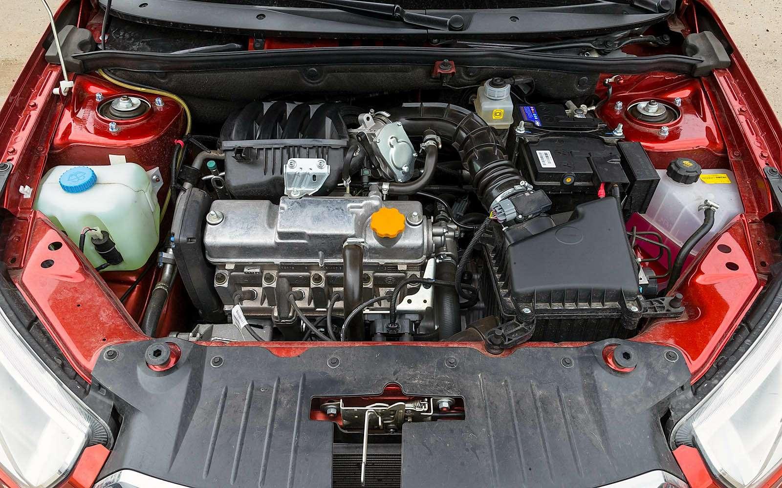 Datsun mi-DO: сравниваем двухлетний хэтчбек сновым— фото 776819
