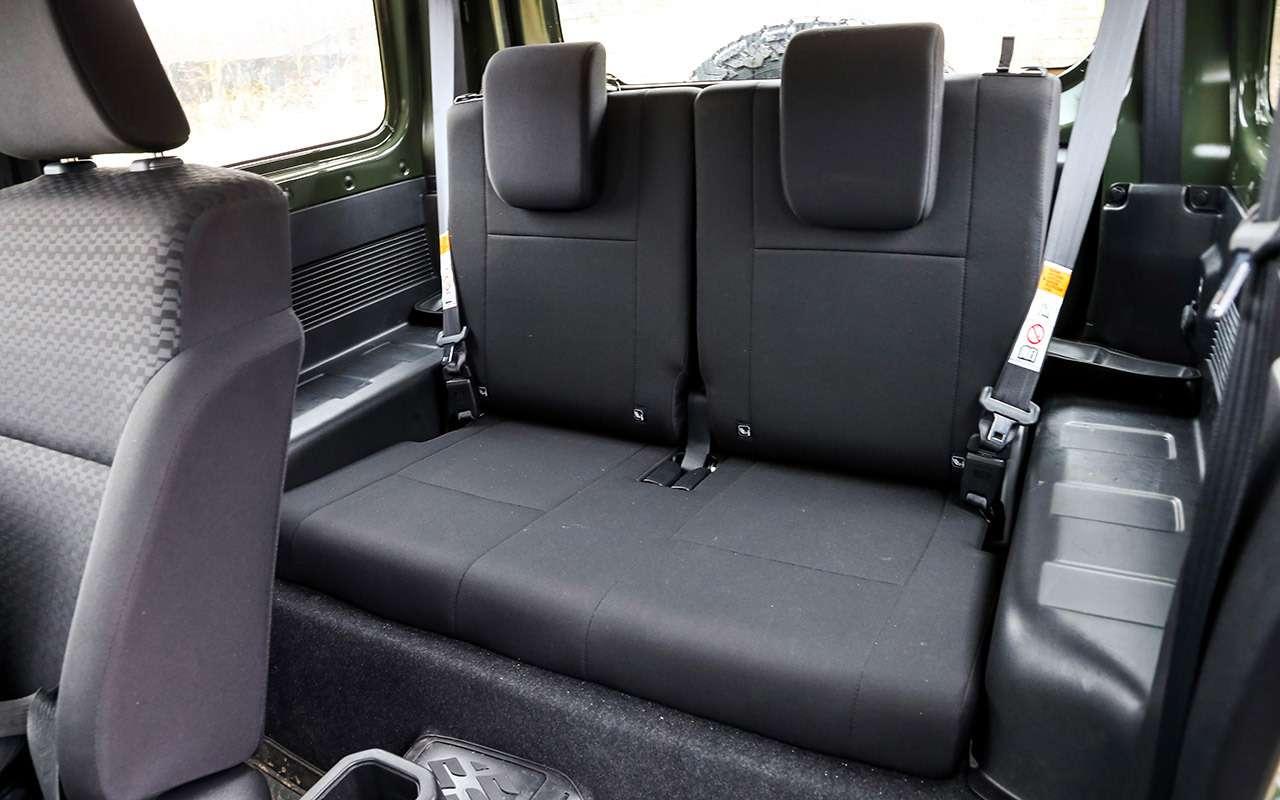 Тест-драйв легенд бездорожья: Lada 4x4, Suzuki Jimny, Jeep Wrangler— фото 1089426