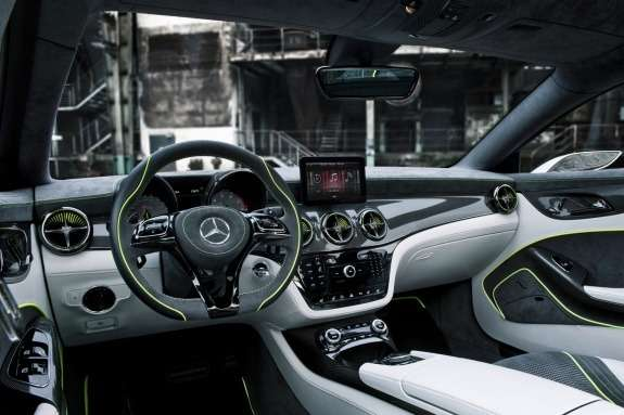 Mercedes-Benz Concept Style Coupe inside