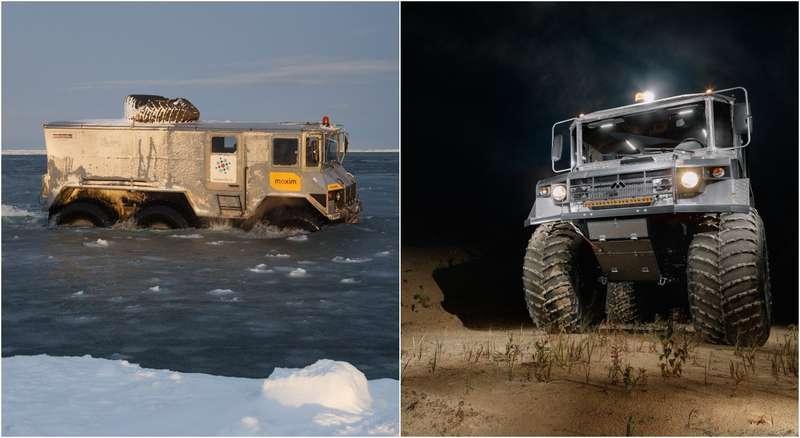 Вездеход «Бурлак»: лучшая машина дляснежных пустынь