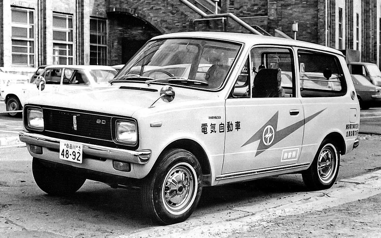 Mitsubishi Minica Van EV (1971)