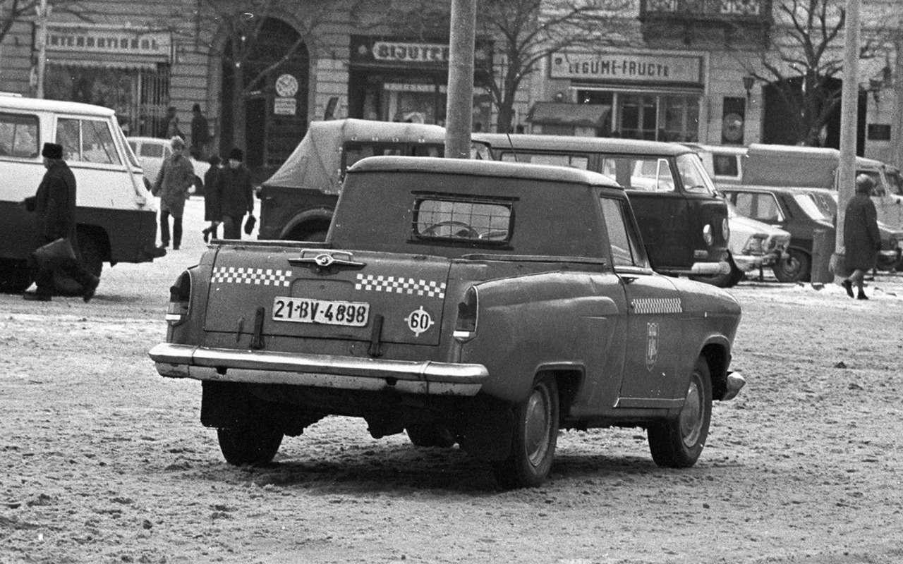 Волга— кроссовер? Десять самых необычных ГАЗ-21— фото 1244588