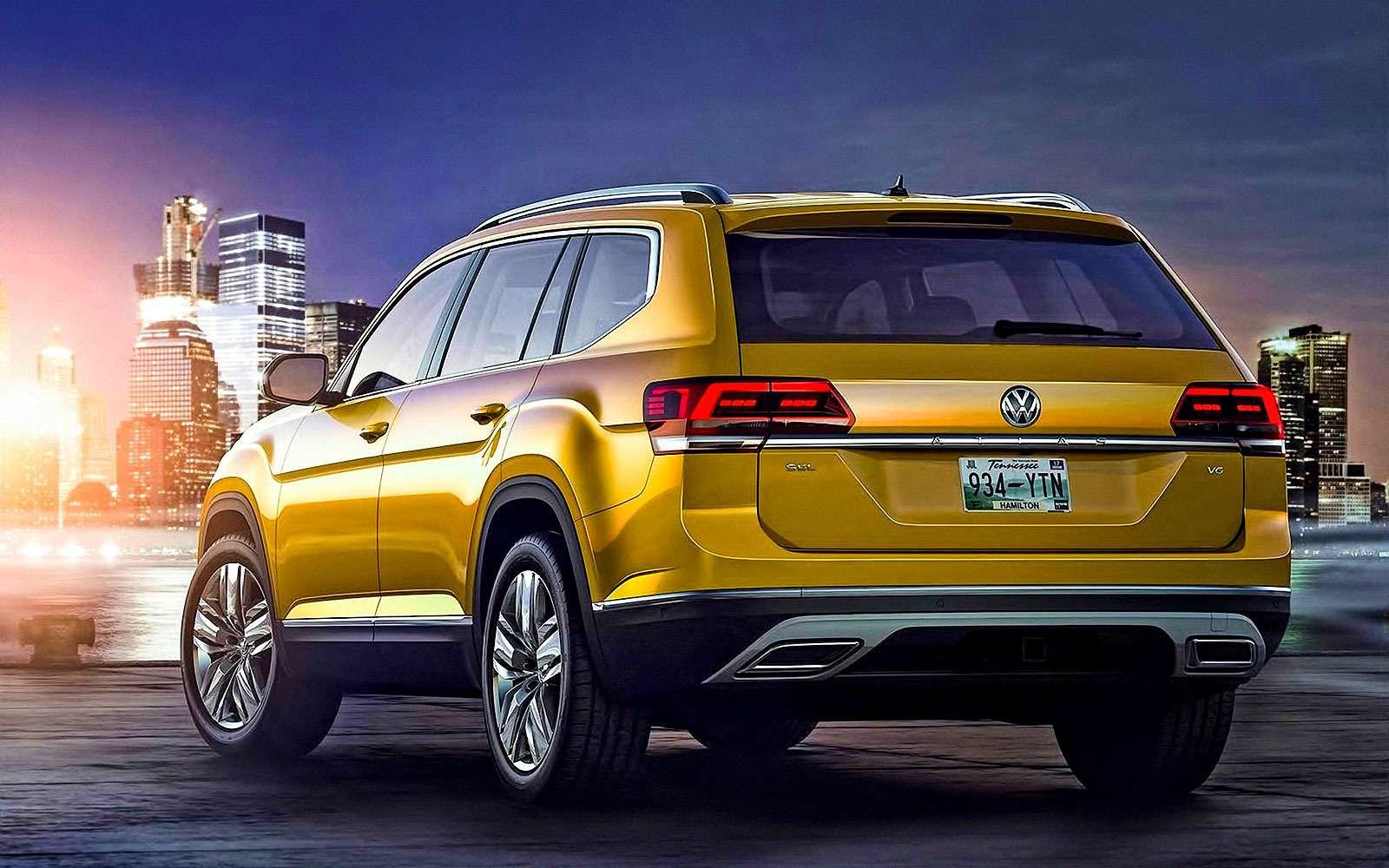 Новый Volkswagen Atlas: ждем «американца» вРоссии!— фото 675933