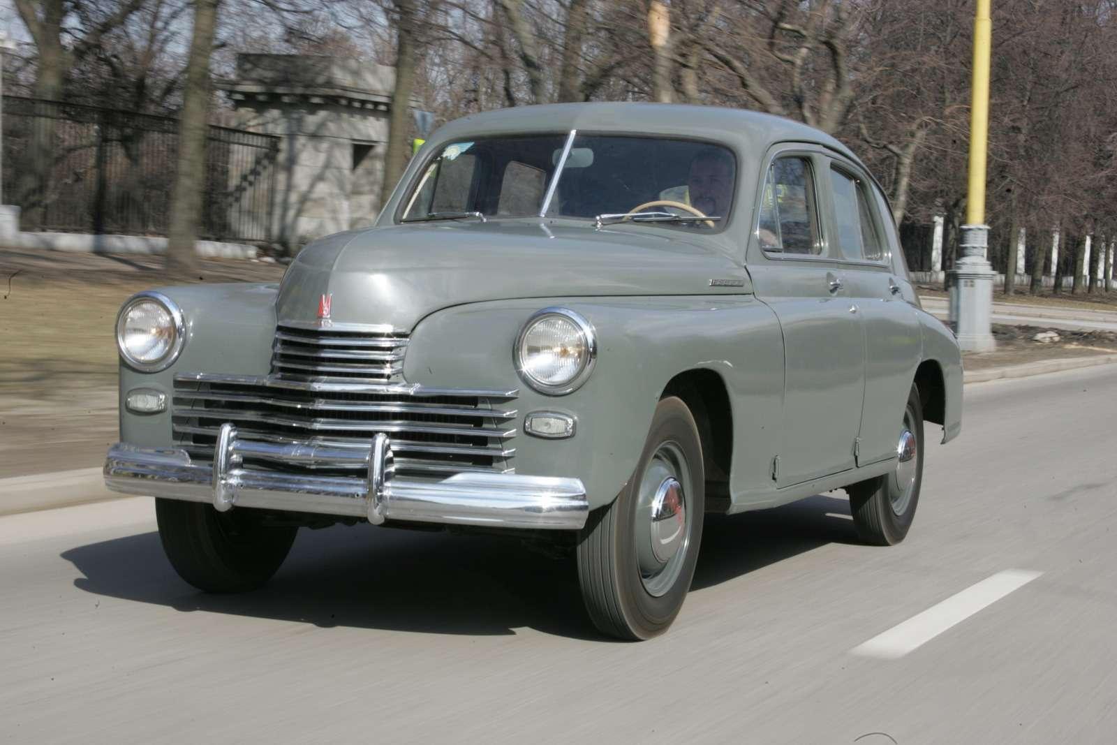 ГАЗ-М20на фоне эпохи: абыла ли«Победа»?— фото 582220