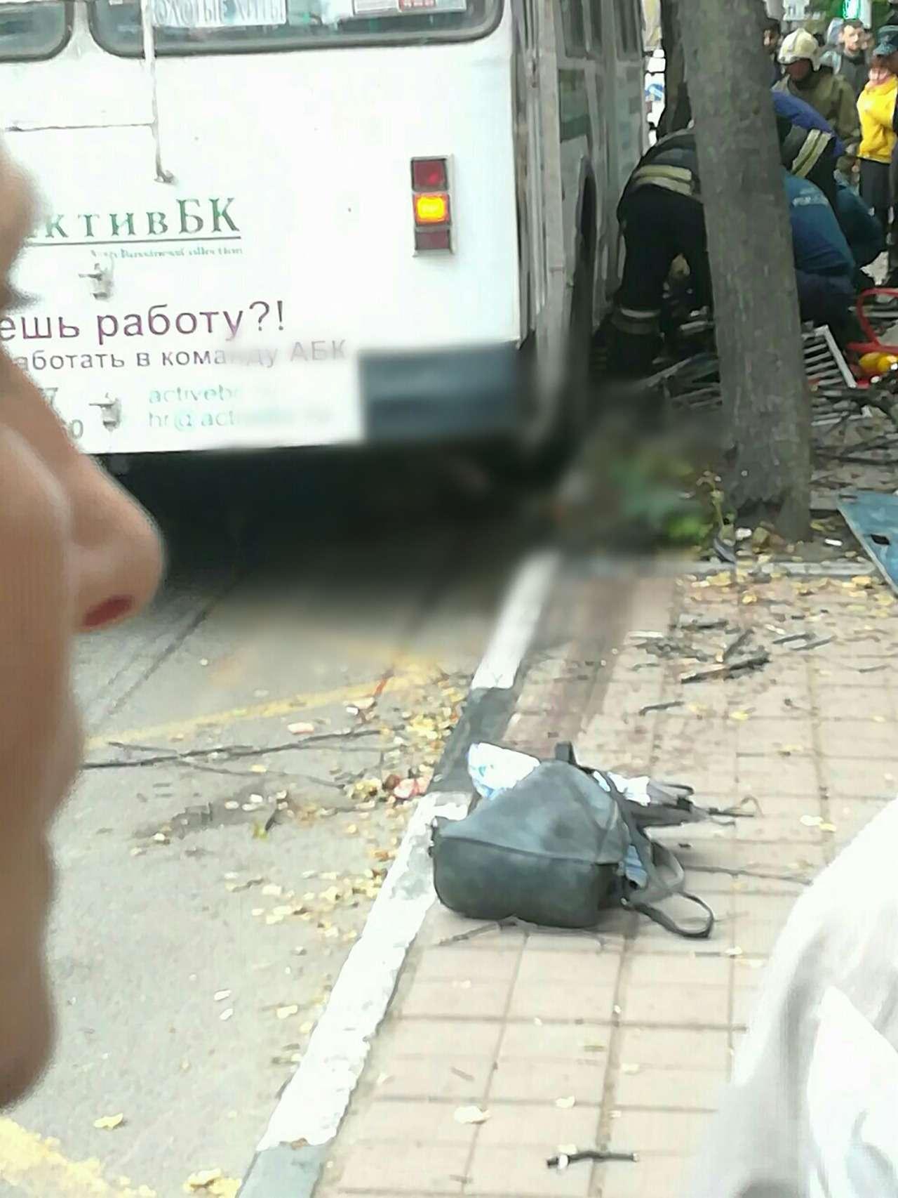 Троллейбус въехал востановку. Есть жертвы ипострадавшие— фото 912678