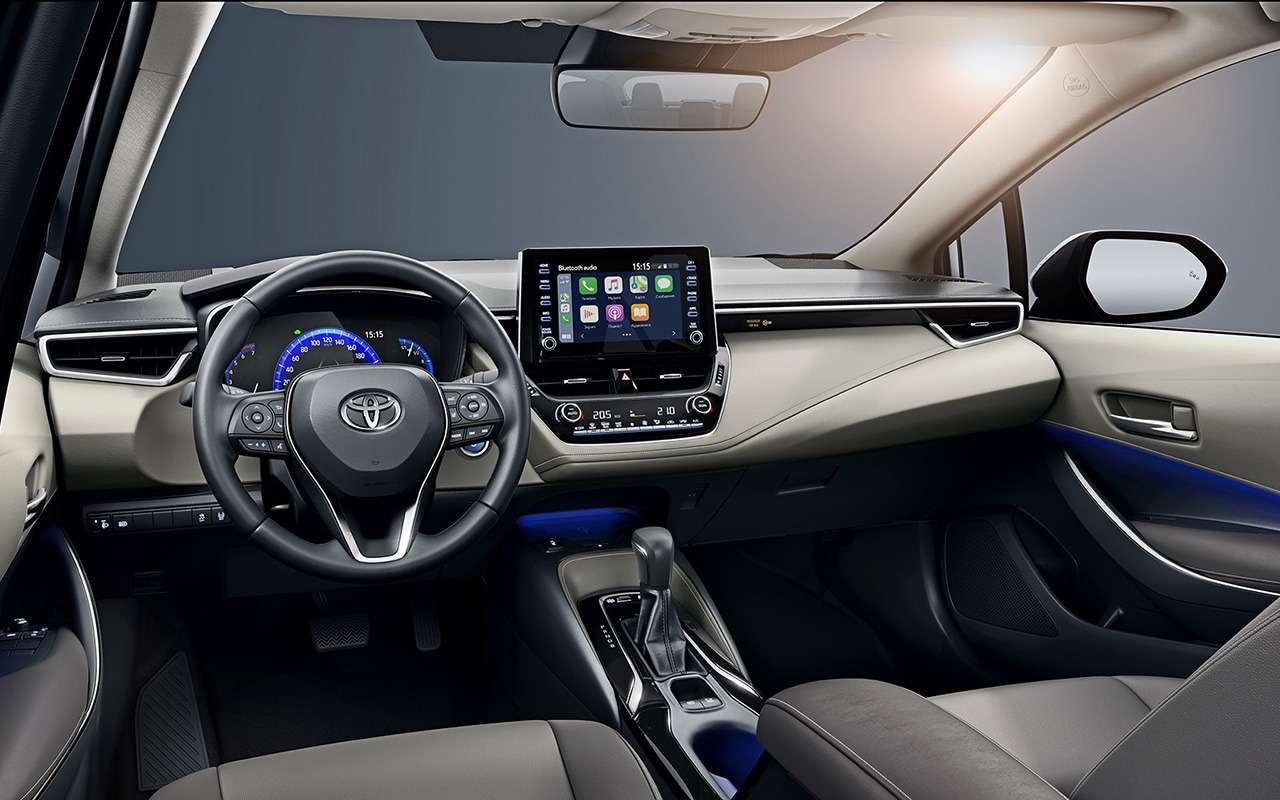 Toyota Corolla 2020: обновленные версии иновые цены— фото 1071105