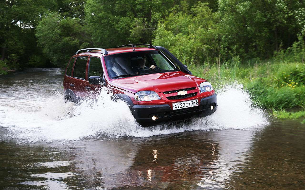 Обновленная Chevrolet Niva: тест нашум ирасход— фото 982274