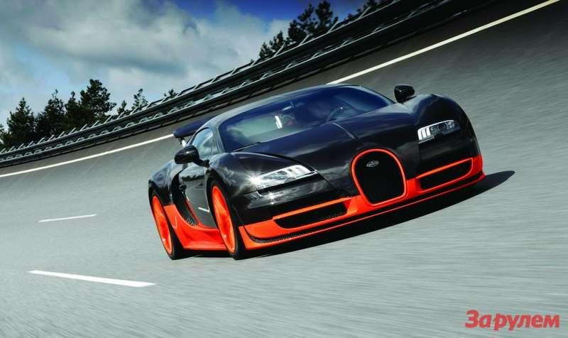 Bugatti Veyron 16.4 Super Sport установил рекорд скорости