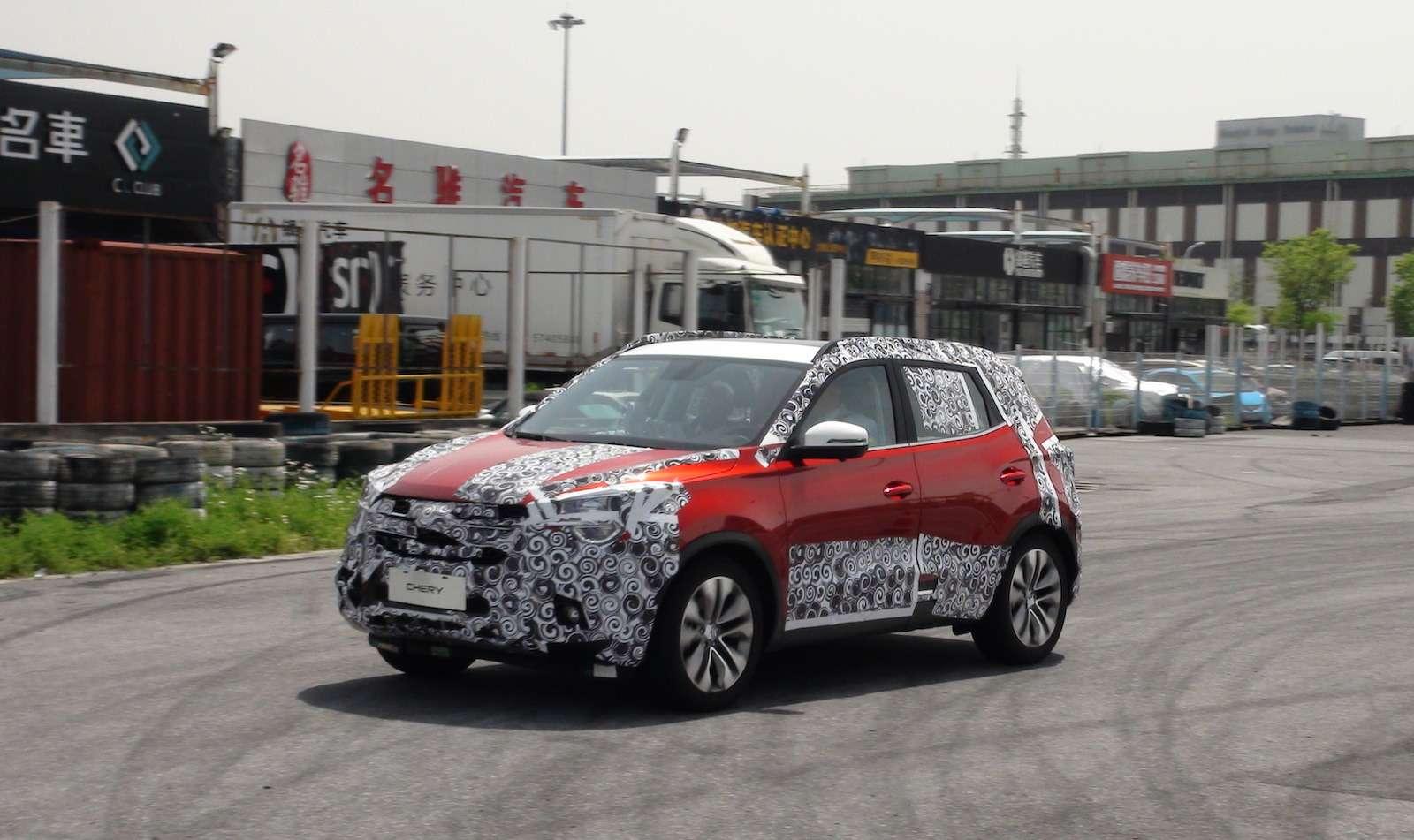 Новый Tiggo 5, будущая Camry идругие: онлайн-трансляция сШанхайского автосалона— фото 739180