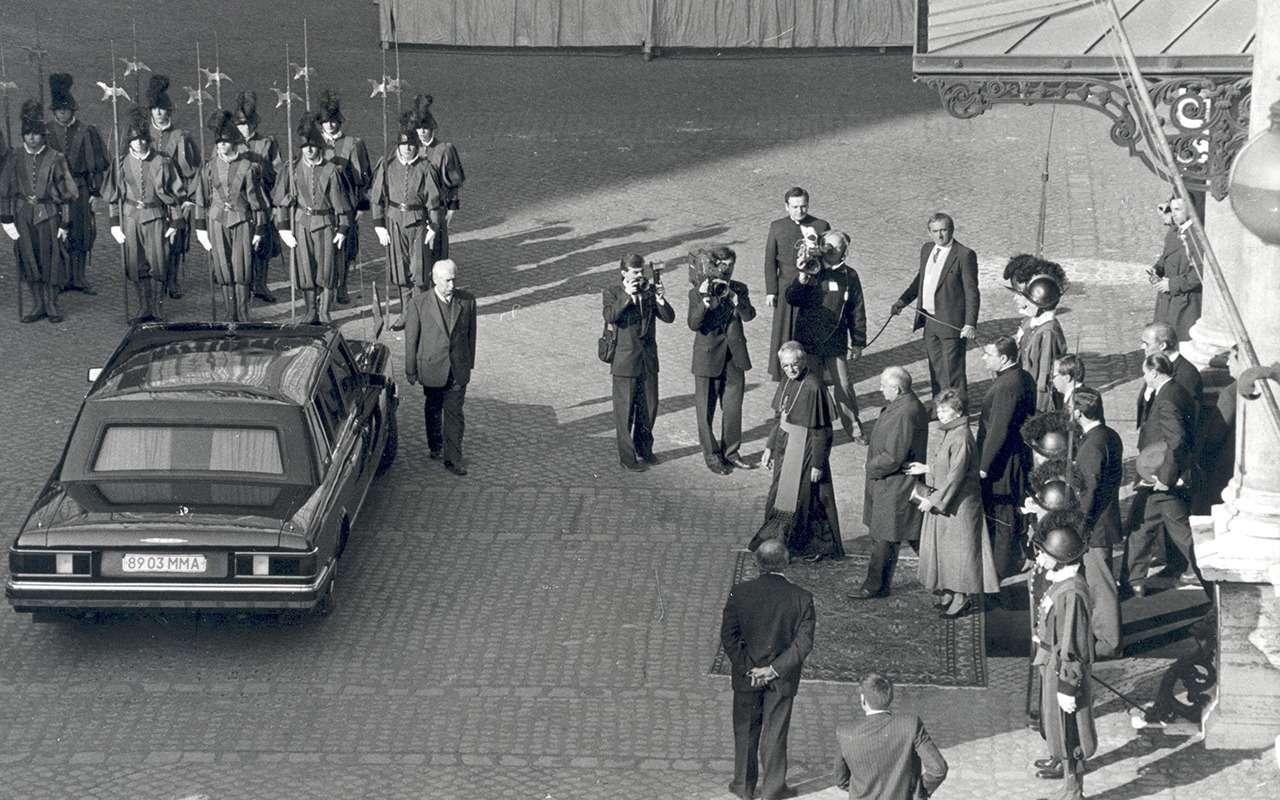 Бронированный лимузин Горбачева иЕльцина— как его строили— фото 1144862