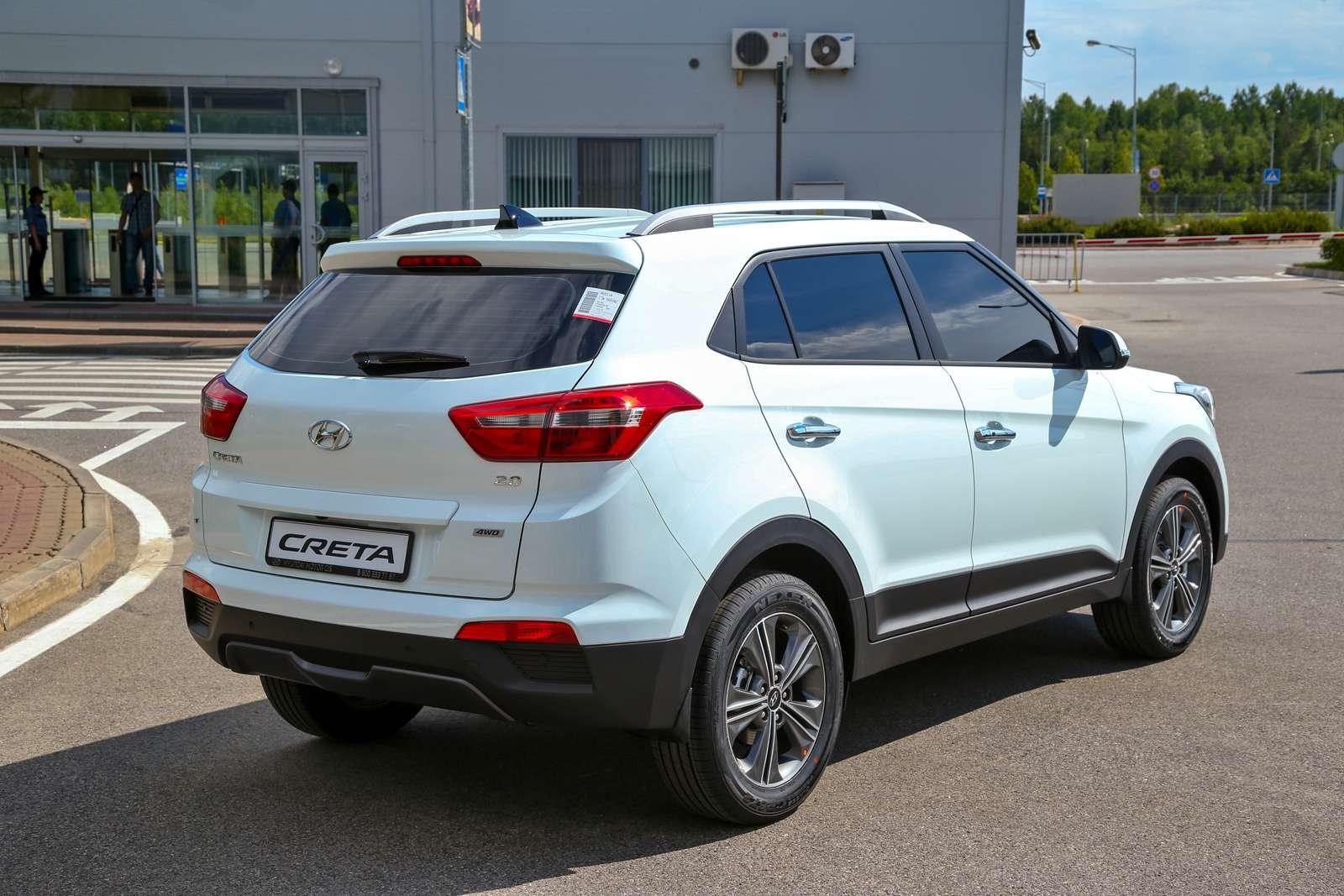 Новый кроссовер  Hyundai Creta— первая встреча— фото 603759