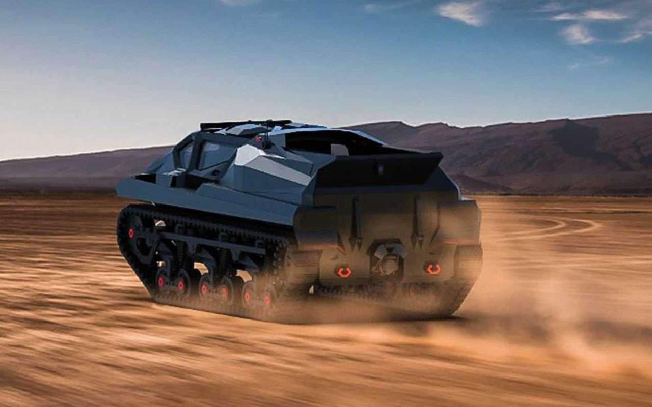Storm— зловещий танк-амфибия изУкраины— фото 1228333