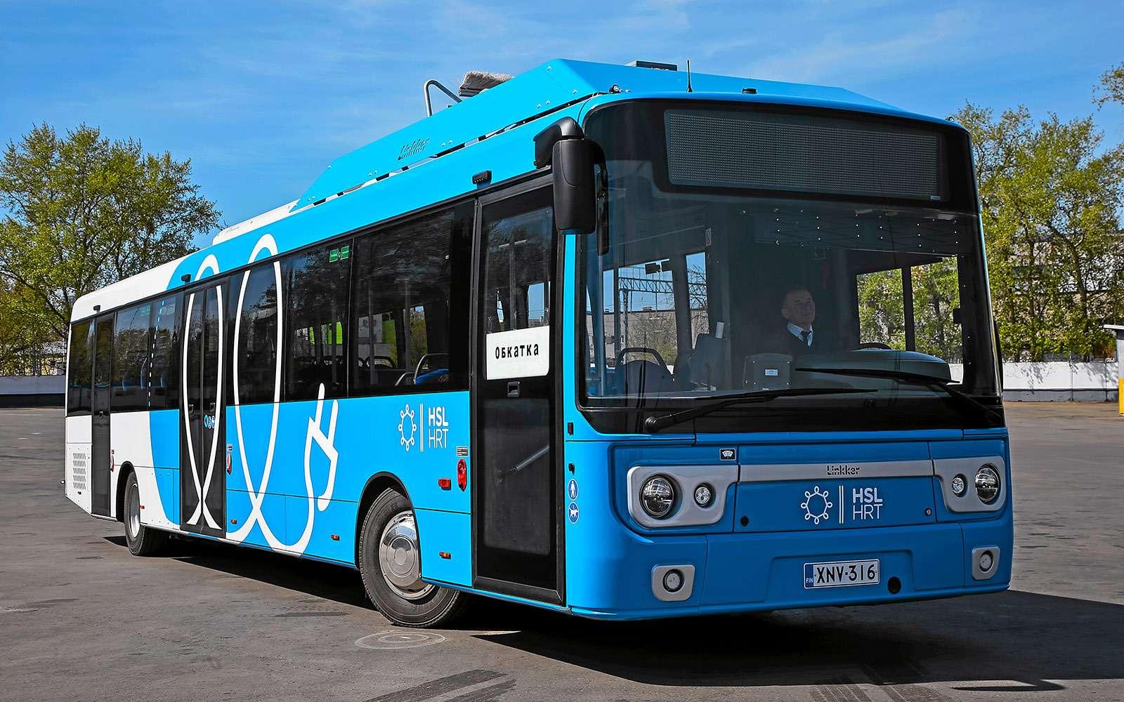 Москва хочет закупить электробусы— тестируем претендента изФинляндии— фото 765255