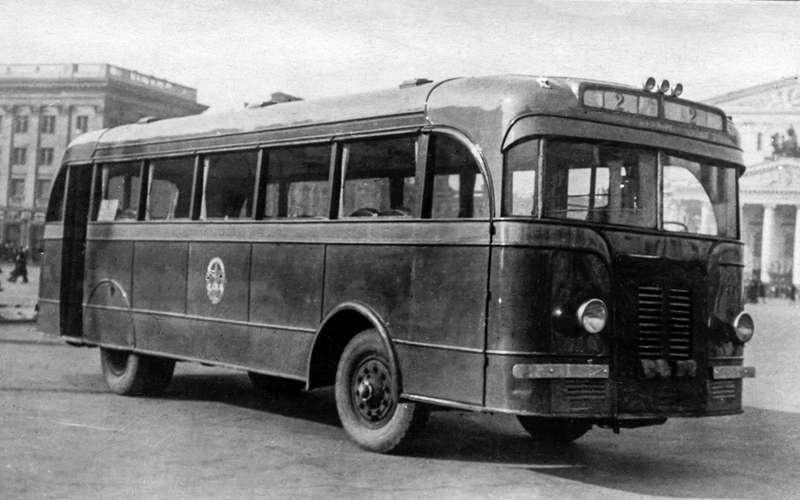 Таких автобусов мыневидели!— Гигант ЯА‑2