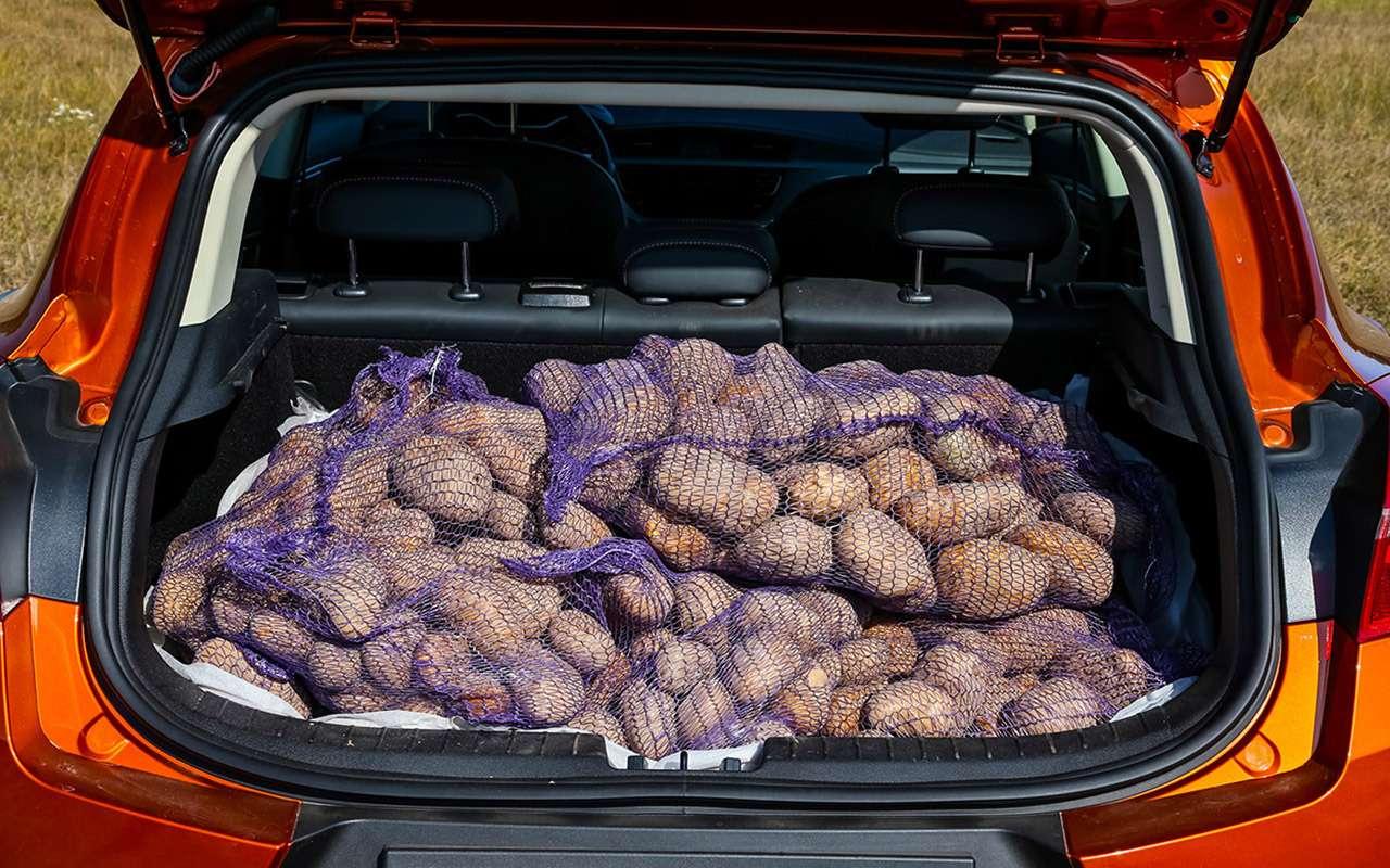 Geely GS, Chery Tiggo 7, Renault Kaptur: тест-драйв вцифрах— фото 1012363