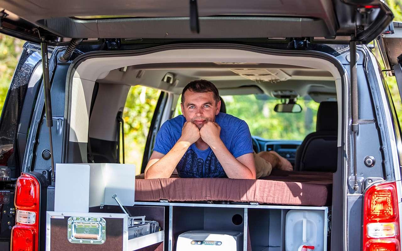 Тест Peugeot Traveller: кемпер наминималках— фото 1280840