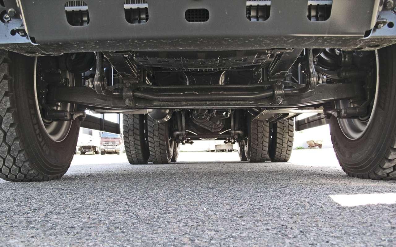Mercedes Arocs российской сборки— детальный обзор— фото 1279166
