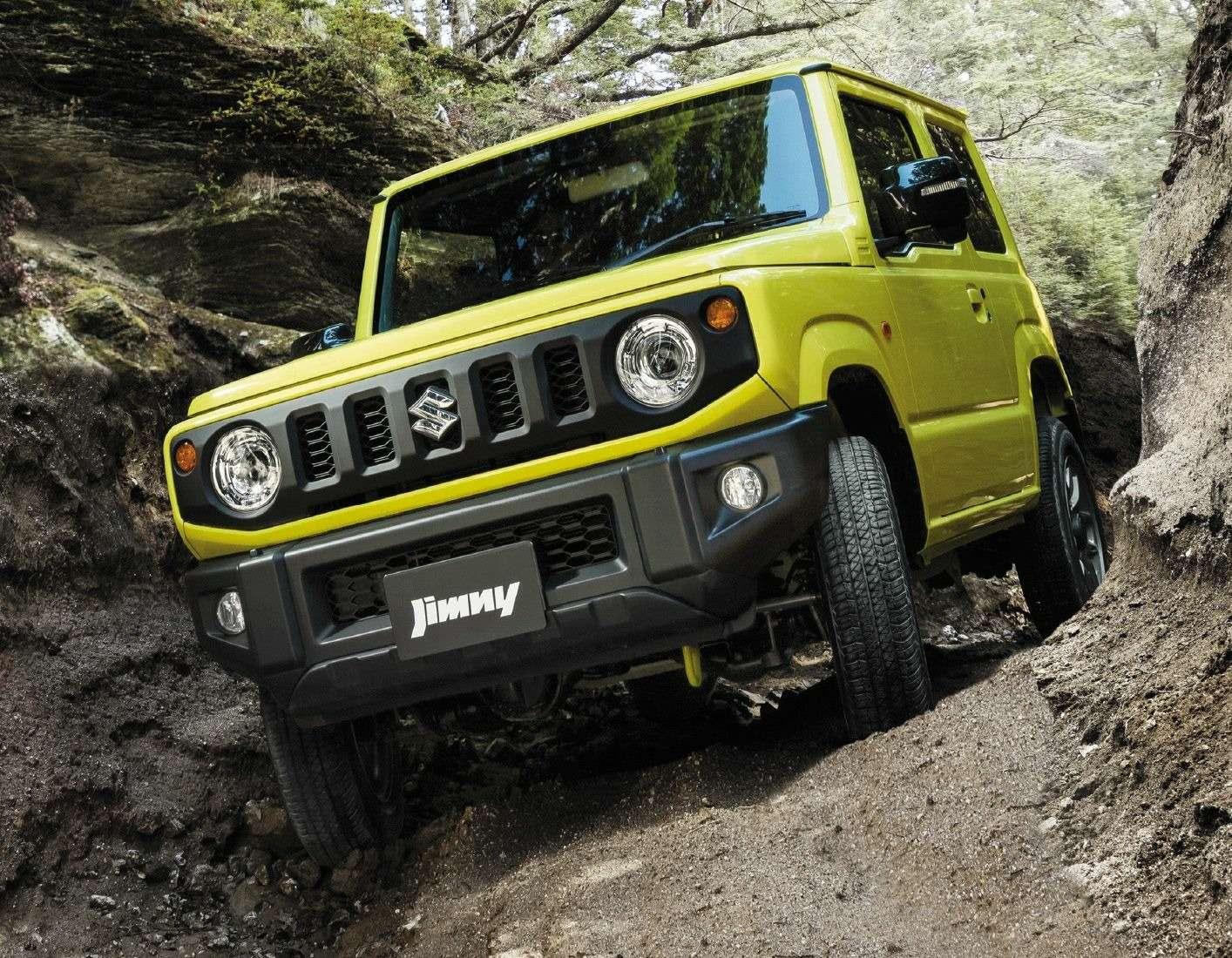 Новый Suzuki Jimny: объявлены технические характеристики— фото 884460