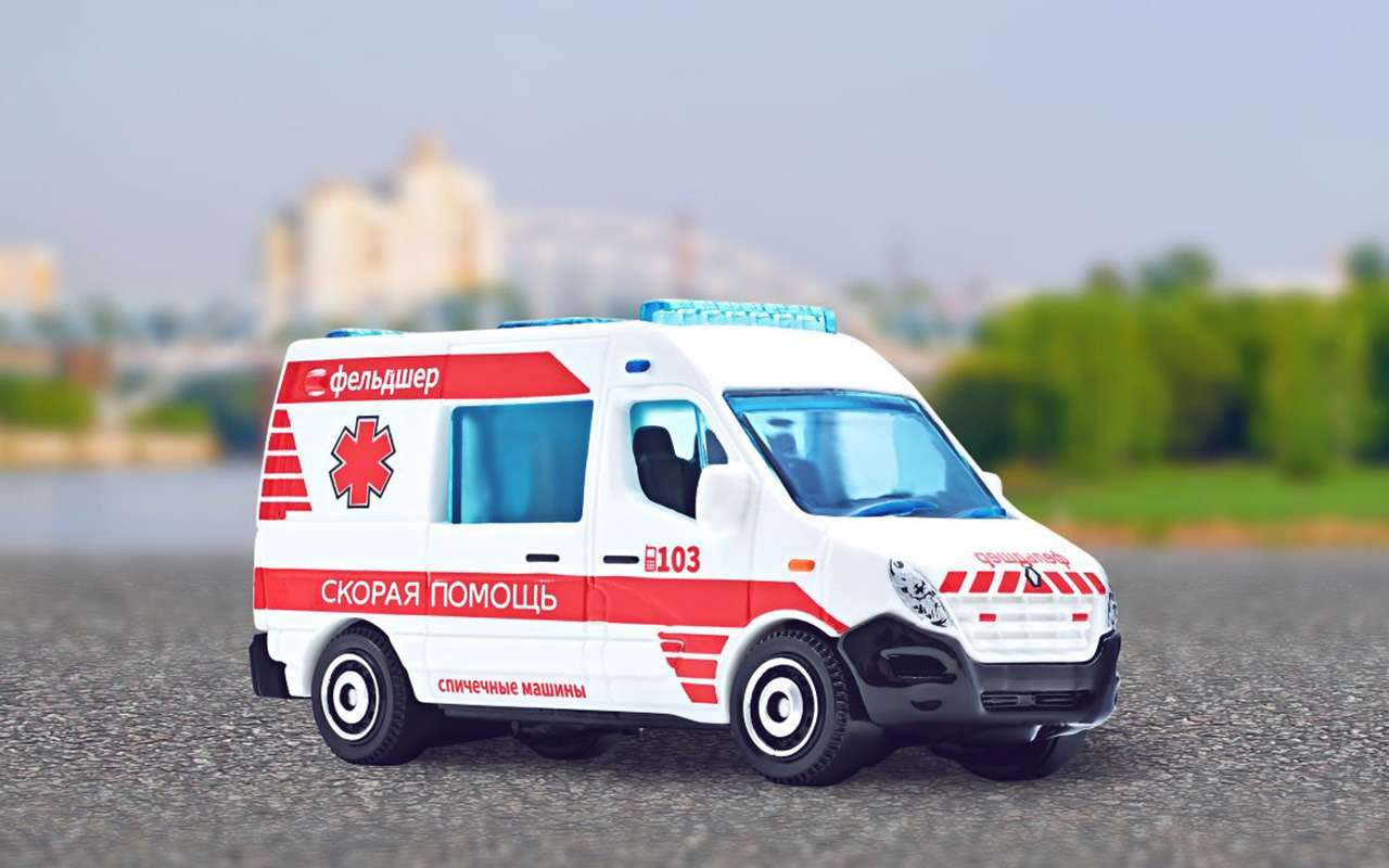 Вышла коллекция машинок аварийно-спасательных служб— фото 1253164