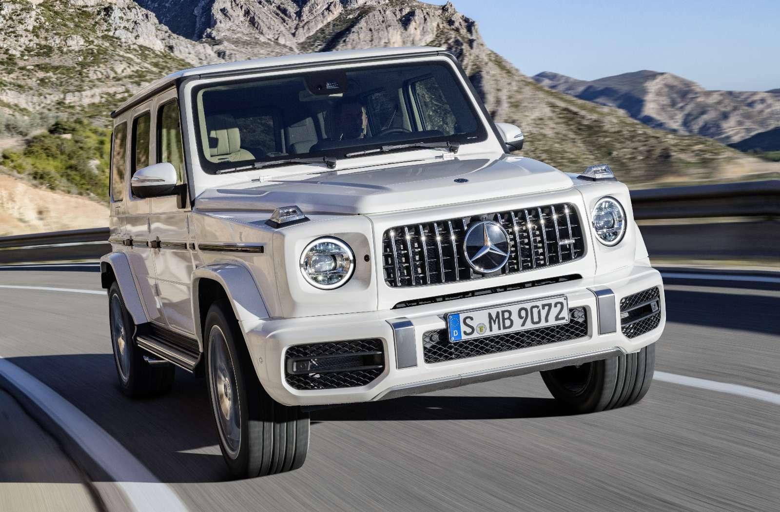 Мажорваген: представлен новый Mercedes-AMG G63— фото 844654