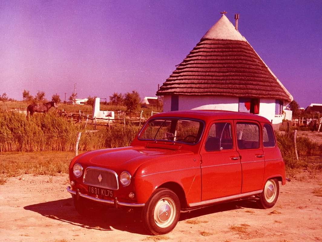 Подсолнцем Камарга. Первое фото Renault R4. Дизайнер автомобиля— Гастон Жюшэ