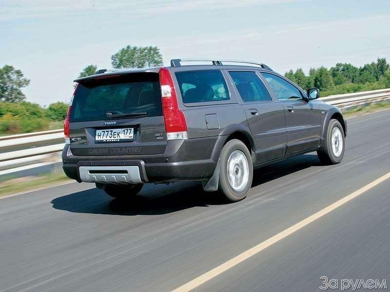 Тест Audi A6Allroad, Cadillac SRX, Volvo XC70. Выше среднего— фото 67345