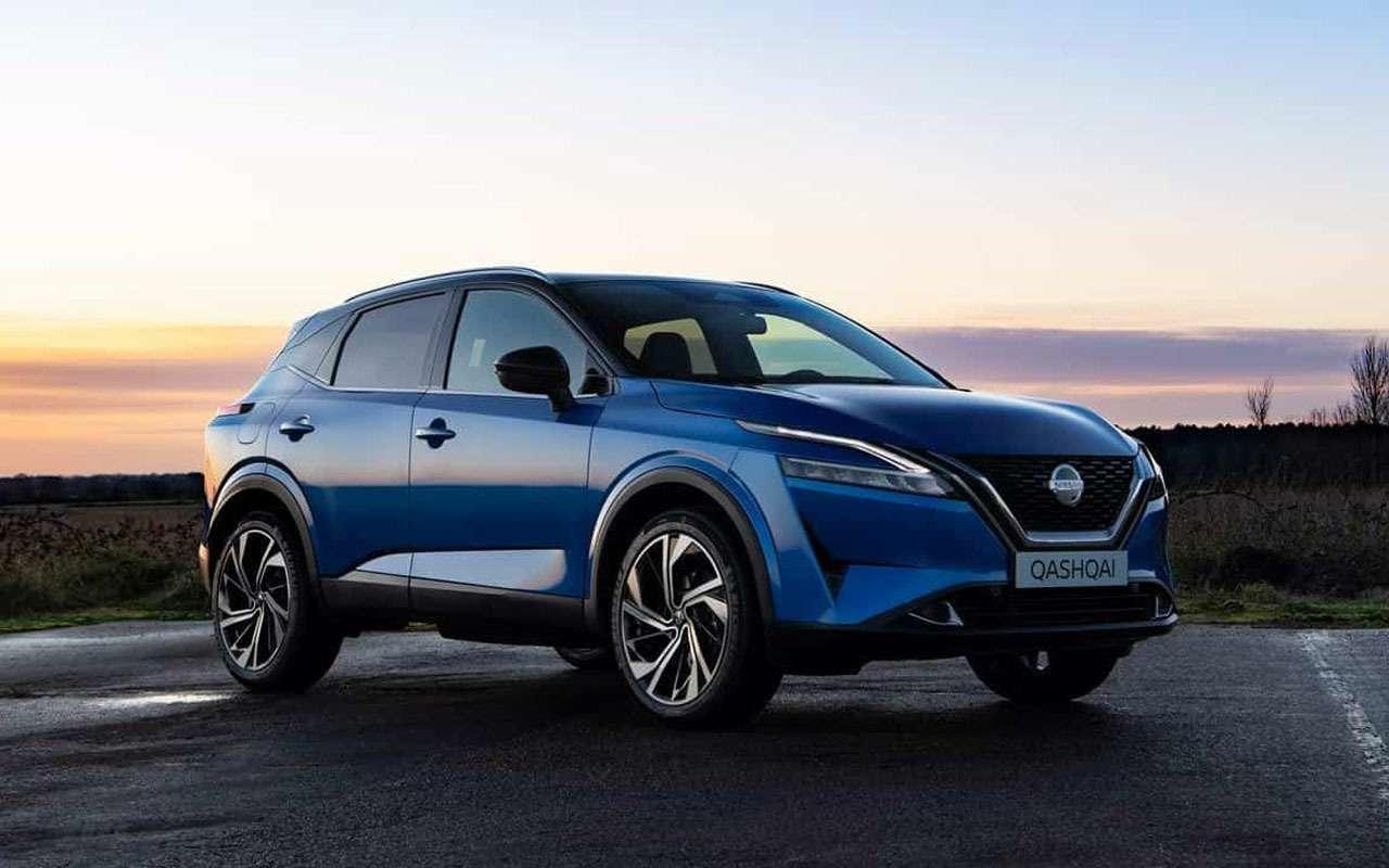 Новый Nissan Qashqai  названы цены