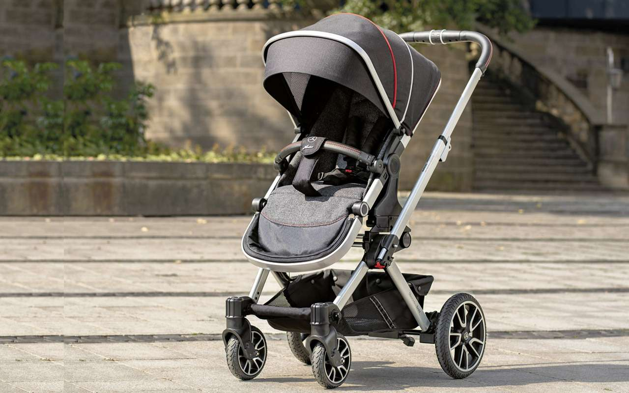 В Mercedes-Benz сделали коляску длямладенцев— фото 918579