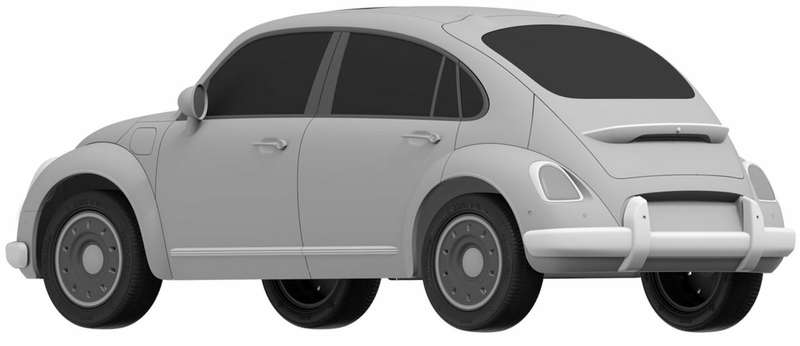 Great Wall запатентовала в Европе клона VW Beetle