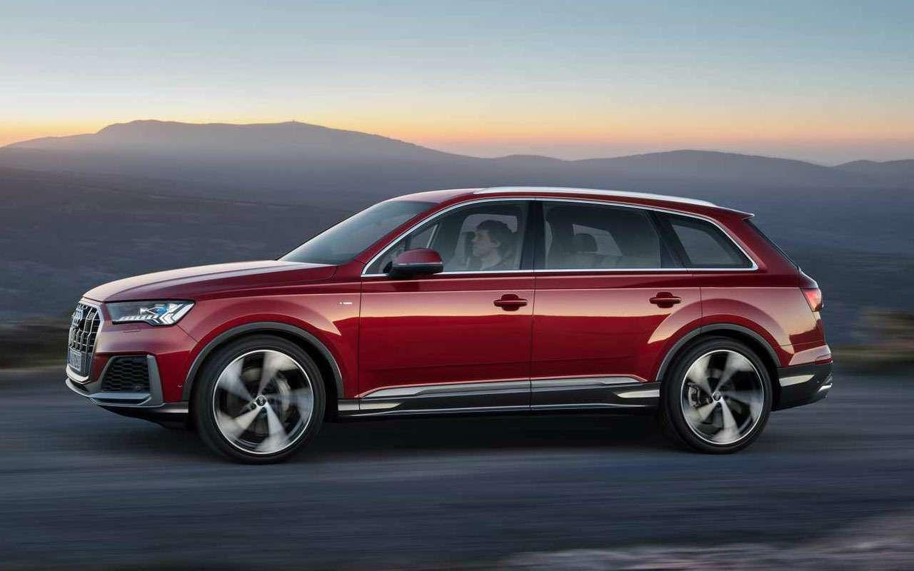 Обновленный Audi Q7— мягкие гибриды исвязь сосветофорами— фото 982623