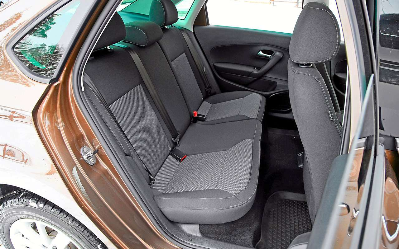 5 плюсов иодин большой минус седана Volkswagen Polo— фото 879718