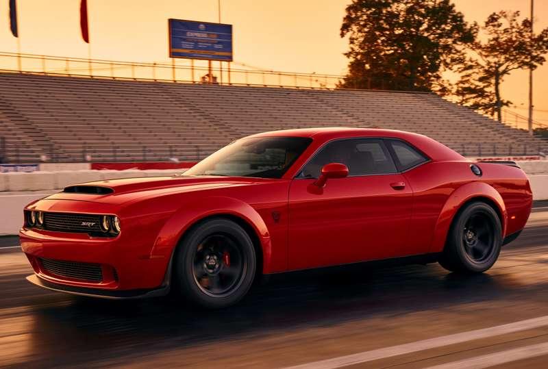 ПриНиксоне такого не было: Dodge Challenger SRT Demon представлен официально