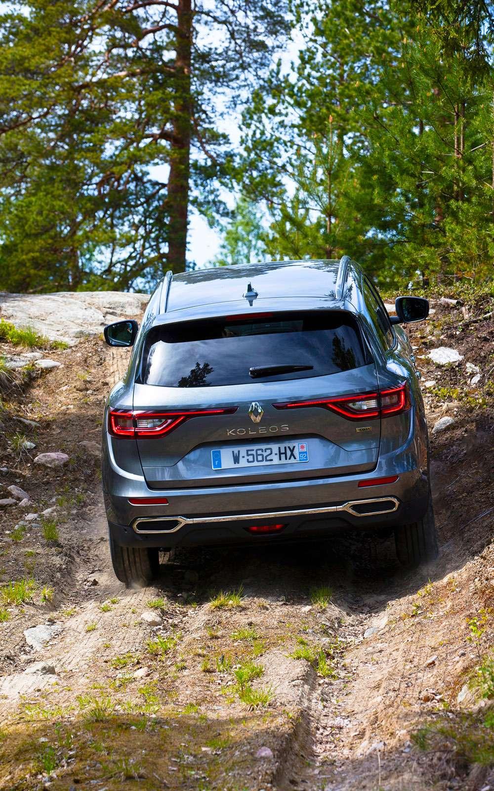 Новый Renault Koleos против конкурентов: буржуа, лесник иленивец— фото 780205