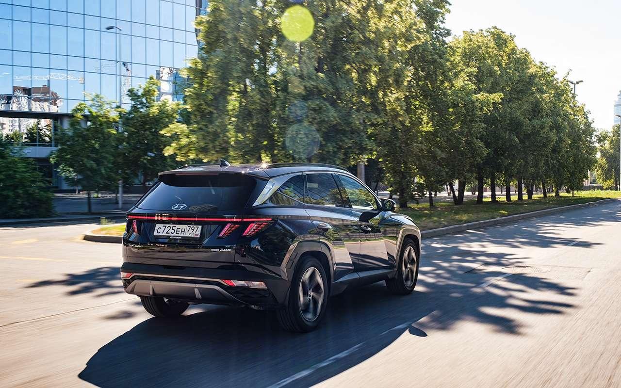 Новый Hyundai Tucson: самый просторный вклассе? Почти— фото 1259581
