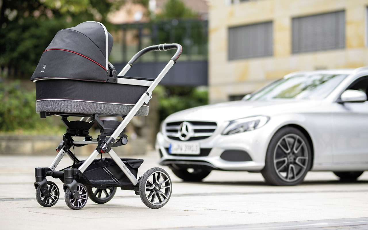В Mercedes-Benz сделали коляску длямладенцев— фото 918576
