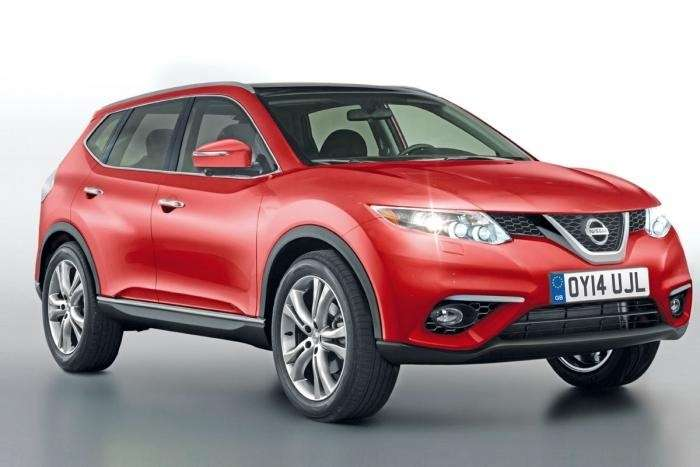 Next Nissan Qashqai side front view rendering nocopyright