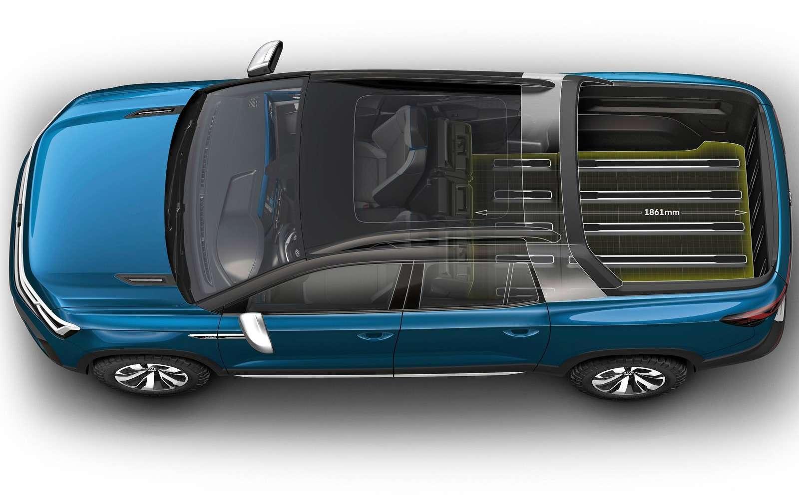 Volkswagen рассекретил новый пикап— фото 920540