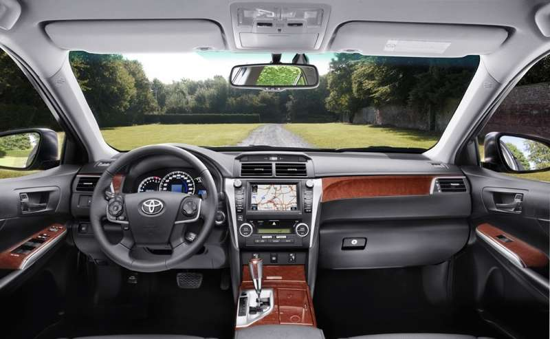 All-new Toyota Camry_interior