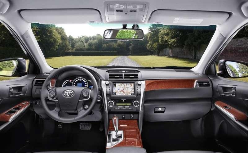 All-new Toyota Camry_interior