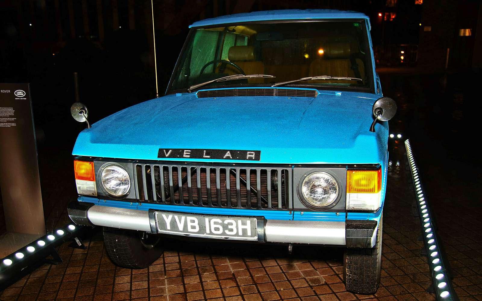 Range Rover Velar: отвал башки!..— фото 742200