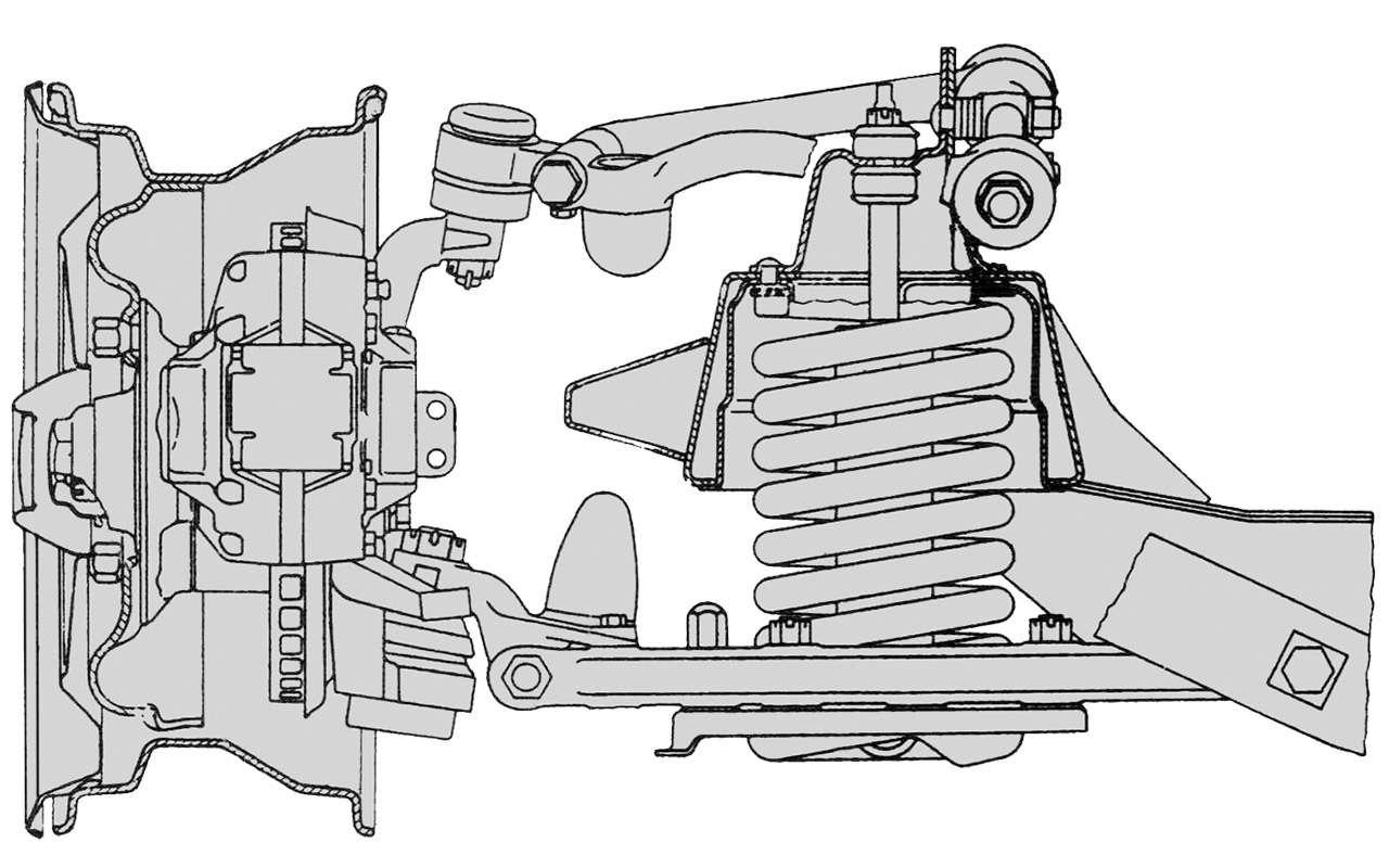 Чайка ГАЗ-14и ееамериканские «уши»— фото 1274113