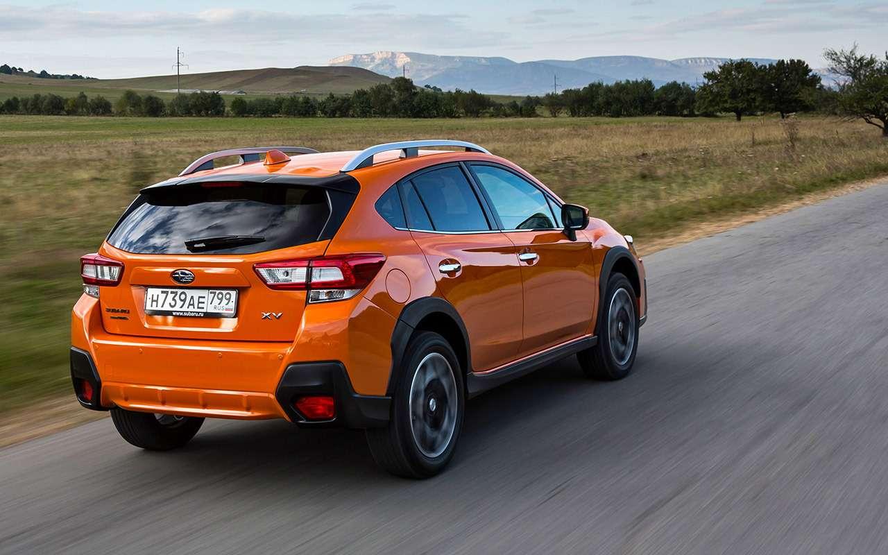 Новый Subaru XV— тест-драйв ЗР— фото 809509